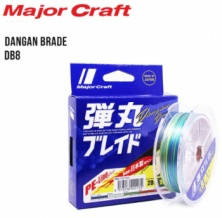 "летёный шнур ""MAJOR CRAFT"" ""Dangan Braid X4"" #0.8 150m"