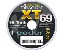 Лескa Dragon XT69 Hi-Tech Feeder 125 м, 0,20 мм